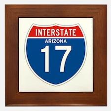 Interstate 17 - AZ Framed Tile