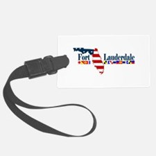 Fort Lauderdale - Map Design. Luggage Tag