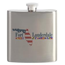 Fort Lauderdale - Map Design. Flask