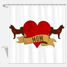 Akita Mom Shower Curtain