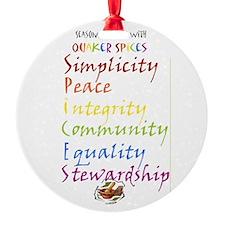 Quaker Spices Ornament