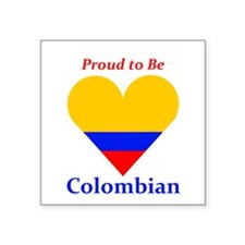 Proud to be Colombian Sticker