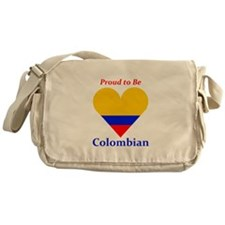 Proud to be Colombian Messenger Bag