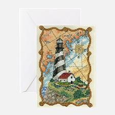 Lighthouse LRG Greeting Card