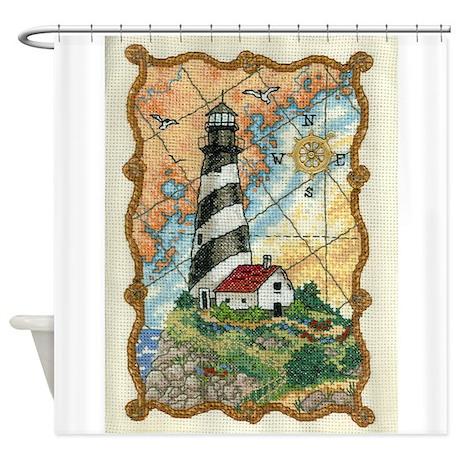 Lighthouse LRG Shower Curtain