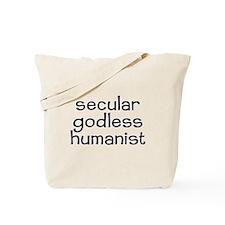 Cute Anti religious Tote Bag