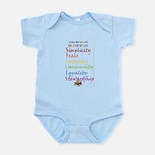 Quaker Spices Infant Bodysuit