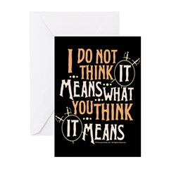 Princess Bride It Means Greeting Cards (Pk of 10)