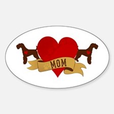 Airedale Terrier Mom Decal
