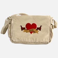 Afghan Hound Mom Messenger Bag