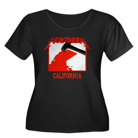 Northern California Plus Size T-Shirt