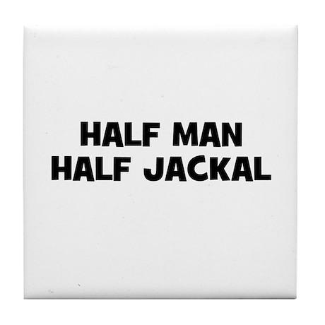 Half Man~Half Jackal Tile Coaster