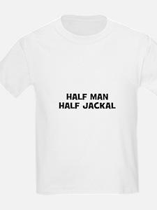 Half Man~Half Jackal Kids T-Shirt