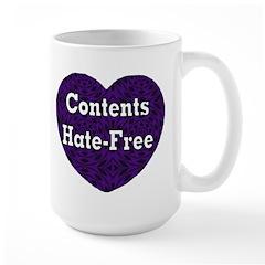 Hate-Free Mug
