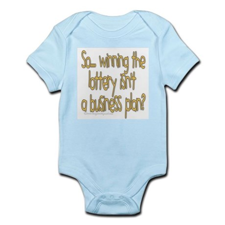 Winning the lottery Infant Bodysuit