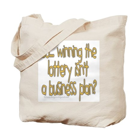 Winning the lottery Tote Bag