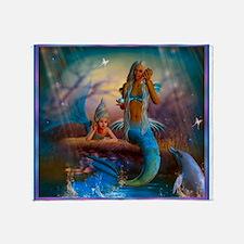 Best Seller Merrow Mermaid Throw Blanket