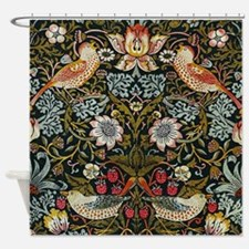 William Morris Strawberry Thief Shower Curtain