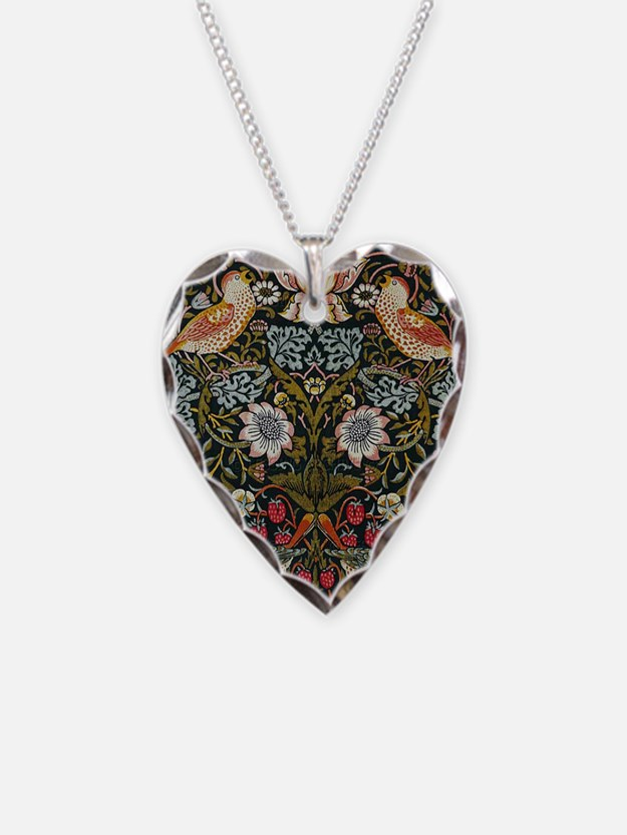 William Morris Strawberry Thief Necklace