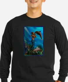 Best Seller Merrow Mermaid Long Sleeve T-Shirt