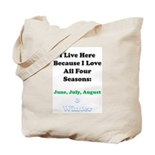 The Seasons Tote Bag