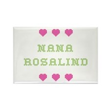 Nana Rosalind Rectangle Magnet