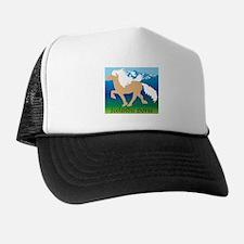 Palomino Icelandic horse in Iceland Trucker Hat