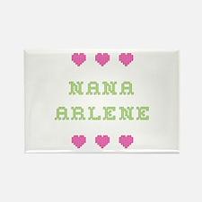 Nana Arlene Rectangle Magnet