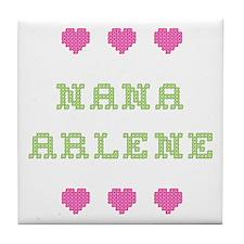 Nana Arlene Tile Coaster