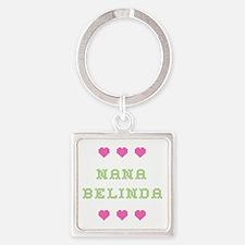 Nana Belinda Square Keychain