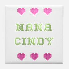 Nana Cindy Tile Coaster