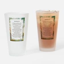 Desiderata La Piazza Drinking Glass