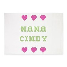 Nana Cindy 5'x7' Area Rug