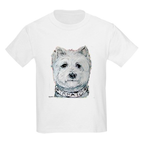 Westie Got Biscuits? Kids T-Shirt