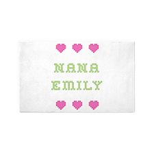 Nana Emily 3 'x 5' Area Rug
