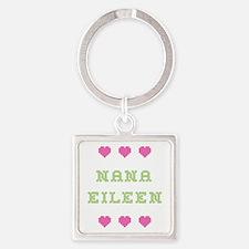 Nana Eileen Square Keychain