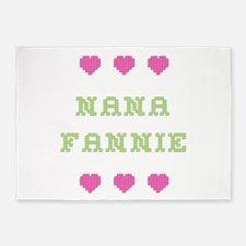 Nana Fannie 5'x7' Area Rug