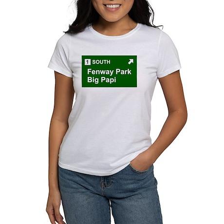Fenway/Big Papi Sign Women's T-Shirt