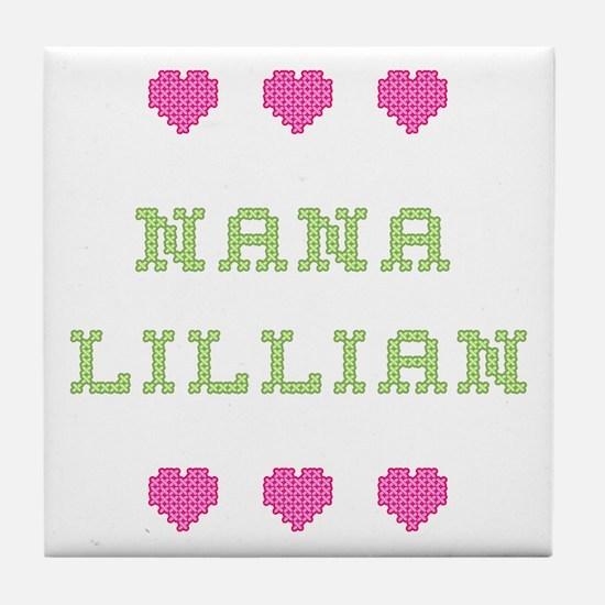 Nana Lillian Tile Coaster