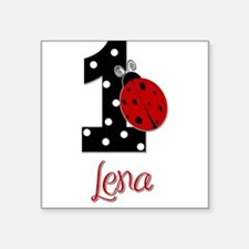 1 Ladybug LENA - Custom Sticker