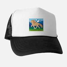 Dun Icelandic horse tolting in Iceland Trucker Hat