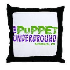 The Puppet Underground Throw Pillow