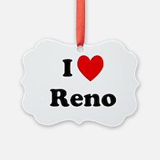 I Love Reno Ornament