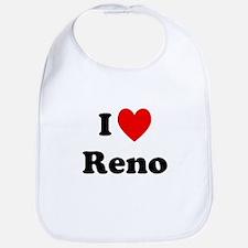 I Love Reno Bib