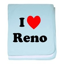 I Love Reno baby blanket