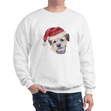 Christmas Border Terrier Sweatshirt