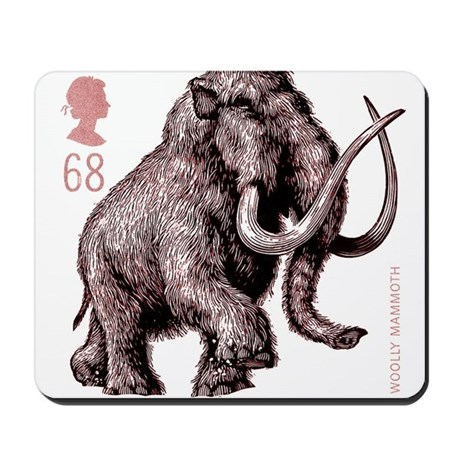 2006 England Ice Age Mammoth Postage Stamp Mousepa