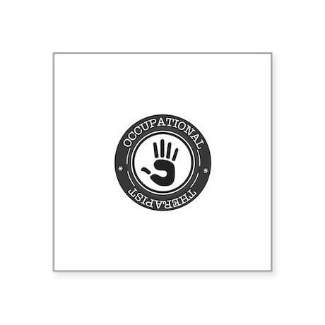 Occupational Therapist Hand Sticker