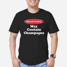 May Contain Champagne Warning T-Shirt