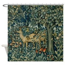 The Greenery Shower Curtain